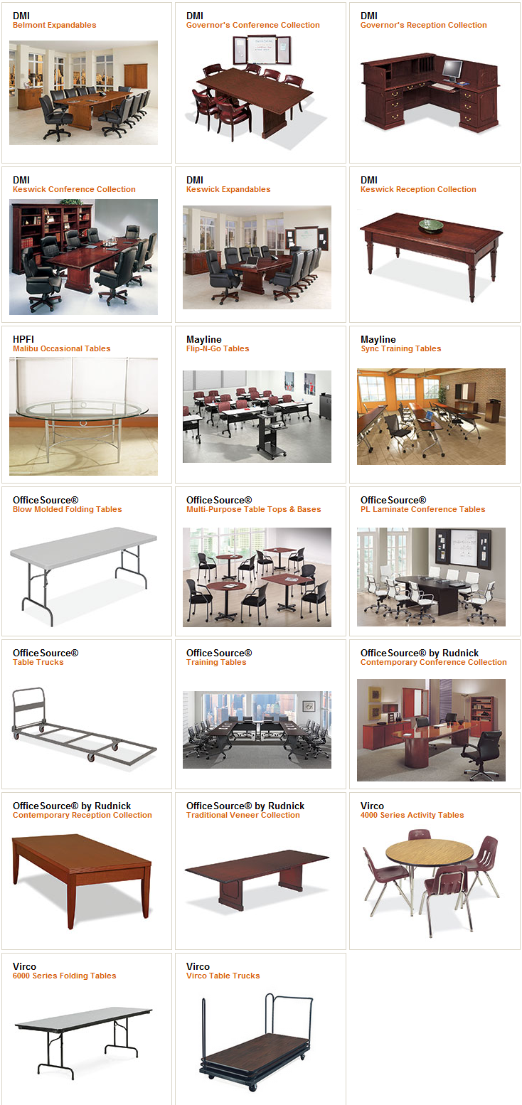All Office Tables